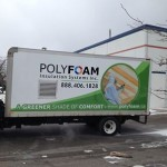 Polyfoam truck